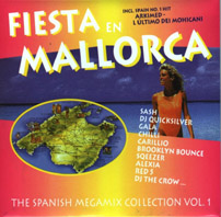 FIESTA EN MALLORCA - The Spanish Megamix Collection Vol.1