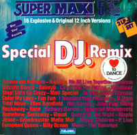 Super Maxi 5 - 18 Explosive & Original 12 inch Versions