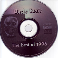 Uncle Ben's, Grandmix 1996, CD Cover