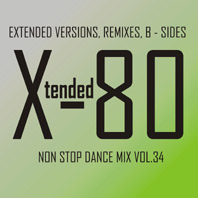 xtended 80 - Non Stop Dance Mix vol.34